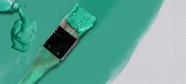A paint brush